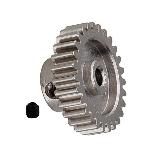 Mxfans 27-T Silver A580044 Motor Steel RC118 Pinion Gear for WL A959 A969 A979 k929 Model Car