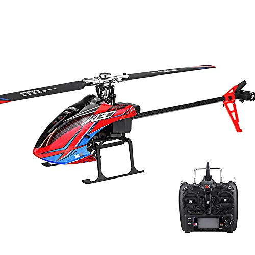 OUYAWEI XK K130 24G 6CH Brushless 3D6G System Flybarless RC Helicopter RTF Compatible with FUTABA S-FHSS