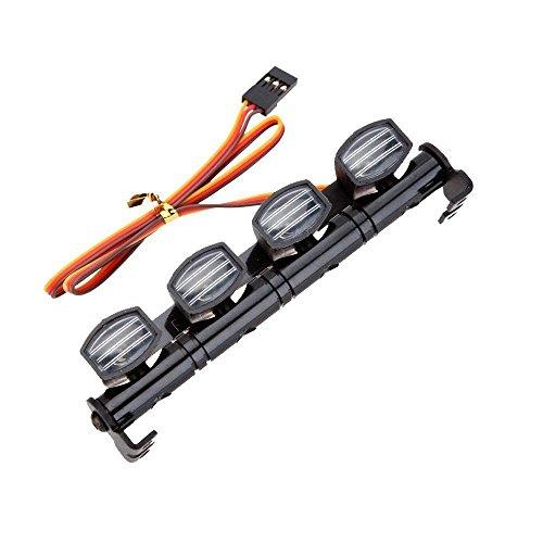 LAFEINA 505 RC Car LED Multi Function LED Light Bar Aluminum 5 Modes 110 18 Tamiya 4WD