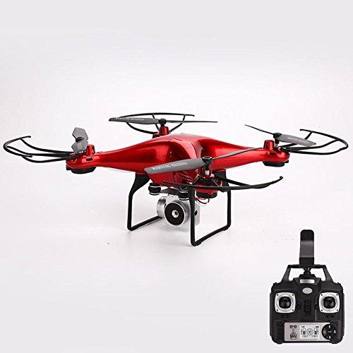Springdoit Quadcopter WiFi Camera Long-Lasting FIRAPP Remote Drone Birthday Gift - red