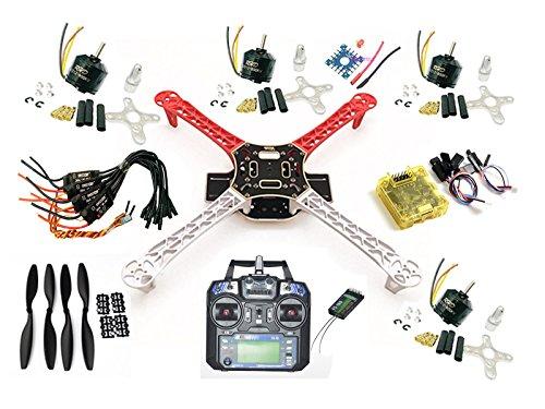 F450 Quadcopter Kit Frame CC3D RHD A2212 800KV 30A ESC 1045 propeller FS-i6