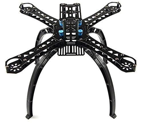 FCMODEL X4 M380L Wheelbase Carbon Fiber Alien Across Mini Quadcopter Frame Kit DIY RC Multicopter FPV Drone