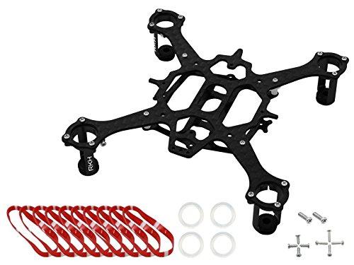 Rakonheli CNC 90mm Quadcopter Kit 7mm Motor Black - RKH 90RQX - Inductrix Nano QXQX2 Eachine