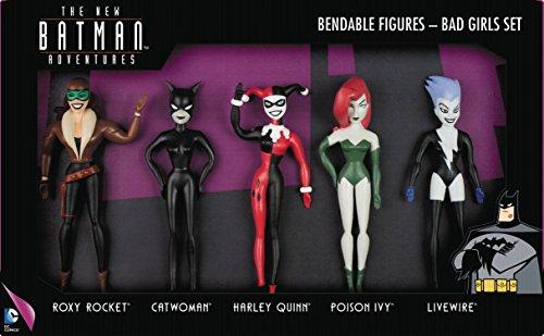 Batman The New Batman Adventures Bad Girls Bendable Action Figure Boxed Set