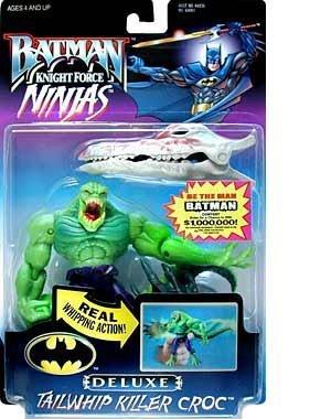 Batman ~ Knight Force Ninjas ~ Tailwhip Killer Croc ~ 6 Bendable Action Figure by Prannoi