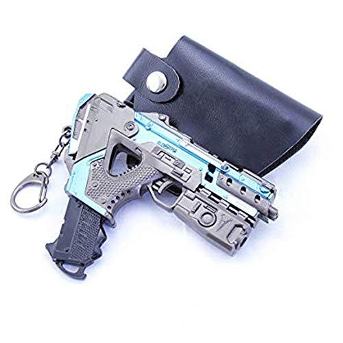 APEX Legends Game Collection 16 Alternator Submachine Gun SMG Gun Model Keychain Action Figure Arts Toys Gift Backpack Pendant Party Supplies Desk Decoration Gun