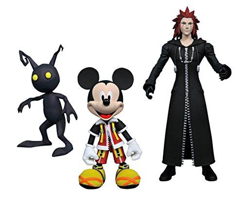 DIAMOND SELECT TOYS Kingdom Hearts Select Mickey Axel Shadow Action Figure Set