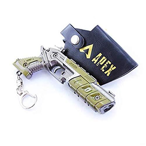 Games APEX Legends 16 Metal Mozambique Shotgun Gun Keychain Metal Model Action Figure Arts Toys Collection Party Gift