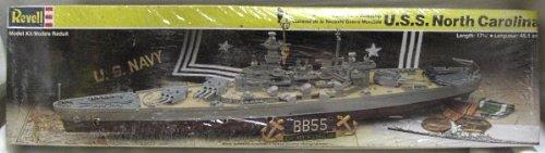 Battleship USS NORTH CAROLINA plastic model ship kit