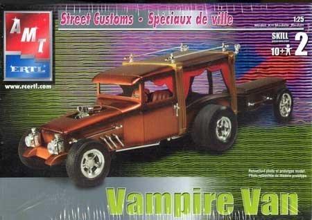 AMT Vampire Van Street Customs Plastic Model KIt