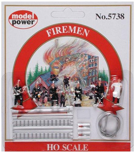 Model Power HO Firemen 6 MDP5738