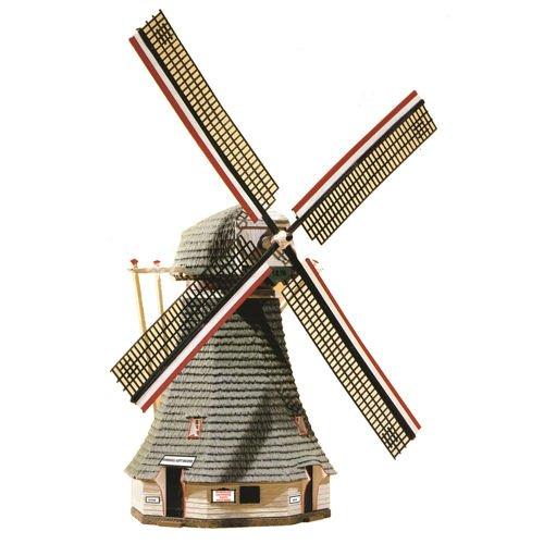 Model Power HO Scale Building Kit - Motorized Windmill