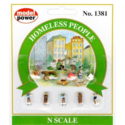 Model Power - Pedestrians -- Homeless People - N