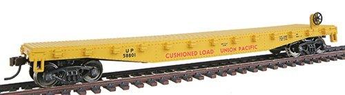Walthers - Trainline 50 Flatcar wMetal Wheels Ready to Run -- Union Pacific - HO by Walthers Trainline