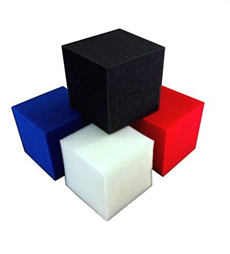 Foam Pits CubesBlocks 1000 pcs Black 5x5x5 1536 Flame Retardant Pit Foam Blocks For Skateboard Parks Gymnastics Companies and Trampoline Arenas
