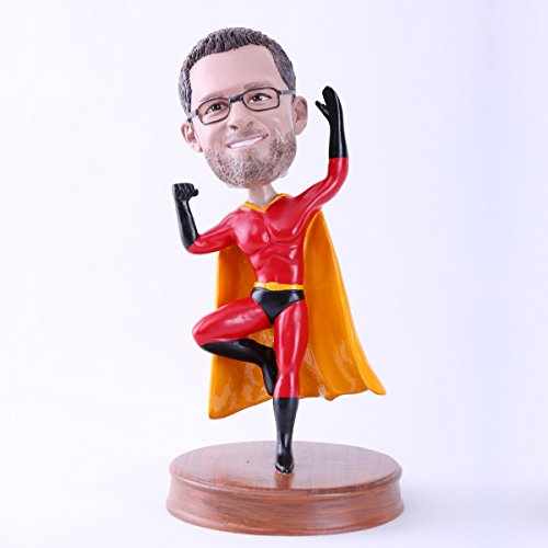 Custom Bobblehead Doll Superhero Man