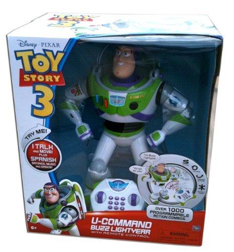 Disney Pixar Toy Story 3 U-Command Buzz Lightyear