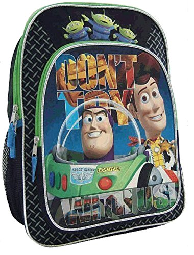 Global Design Concepts Toy Story 16 inch Backpack - Dont Toy with Us