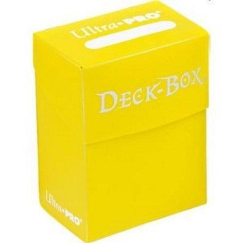 Ultra PRO Standard Deck Box Yellow 80-Cards