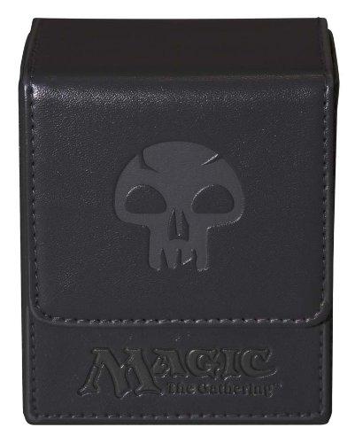 Ultra Pro Magic the Gathering MTG Mana Magnetic Flip Box Deck Box  UPR86108 Black