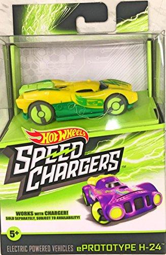Hot Wheels Speed Chargers- Yellow ePrototype H-24