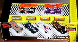 Hot Wheels Speed Racer Grand Prix 6 Pack 164 Diecast