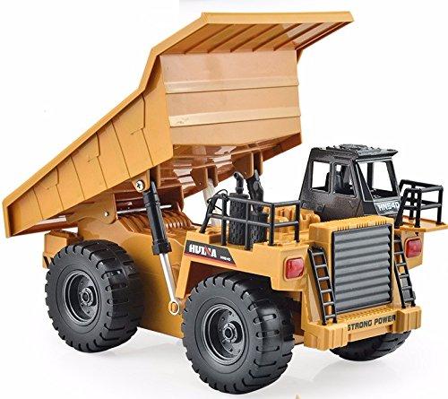 120 scale 6CH remote control RC dump trucks size27x15x14cm