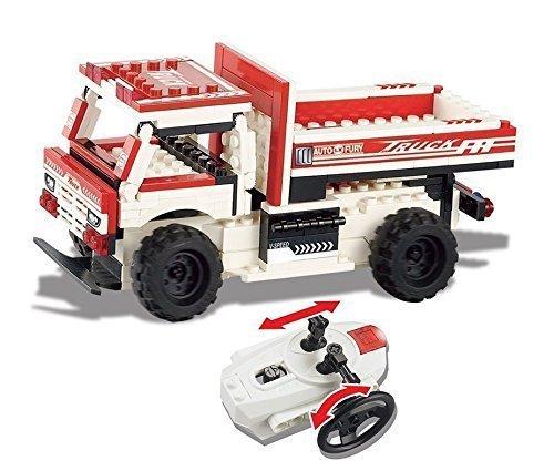 UniBlock Remote Controlled Dump Truck Building Block RC Vehicles Compatible With Lego Bricks Dump Truck- 154 pcs