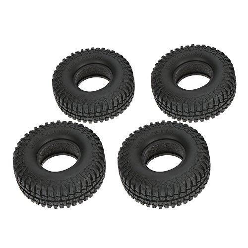 Goolsky 4Pcs Austar 19 100mm 110 Scale Tires for 110 RC4WD D90 Axial SCX10 RC Rock Crawler