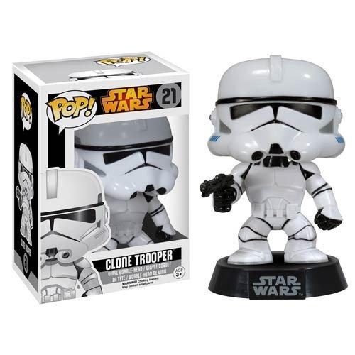 Funko Star Wars Clone Trooper Pop Vinyl Bobble Head