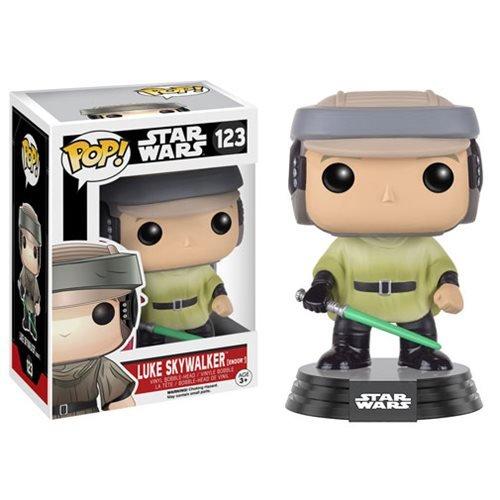 Star Wars Endor Luke Pop Vinyl Bobble Head
