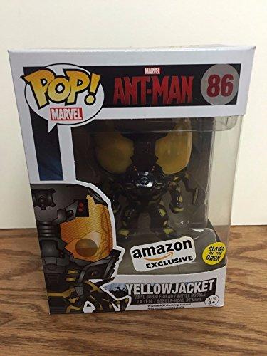 Yellowjacket 86 ANT-MAN Amazon Exclusive GID Funko Pop Vinyl Bobblehead