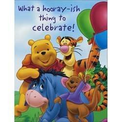 Winnie The Pooh Invitation Cards