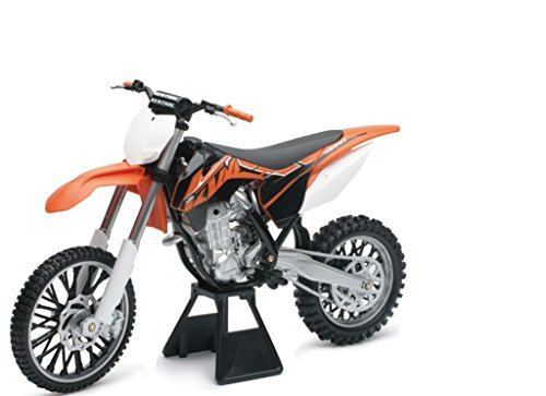 KTM 450 SX-F Dirt Bike Plastic Model Motorcycle by New-Ray Toys