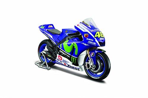 Yamaha YZR-M1 Valentino Rossi - No 46 MotoGP 2015 Diecast Model Motorcycle