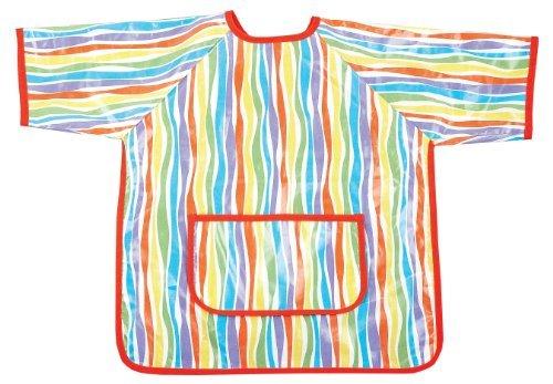 AM PM Kids Paint Smock Stripes Color Stripes Model 63004