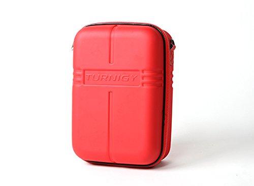 HobbyKing Turnigy Transmitter Case wFPV Goggle Storage - Red