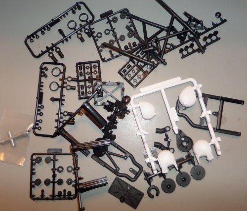 Axial AX10 Deadbolt Plastic hardware
