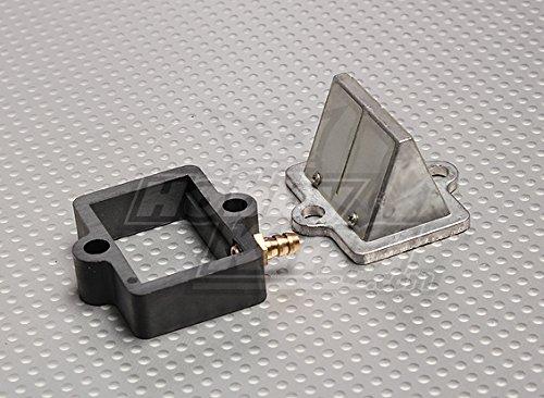 HobbyKing RCGF 30cc Replacement Reed Block and Manifold