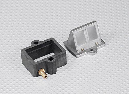 HobbyKing RCGF 50cc Replacement Reed Block and Manifold
