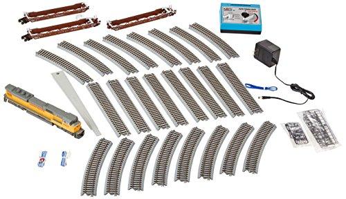 Kato USA Model Train Products HO Unitrack EMD SD9043MAC Union Pacific with MAXI-IV Starter Set