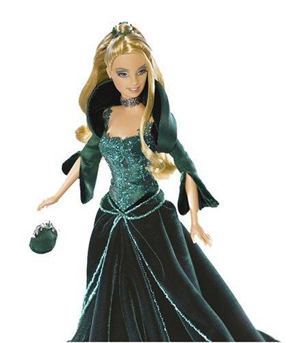 Holiday 2004 Barbie - Green Velvet Dress