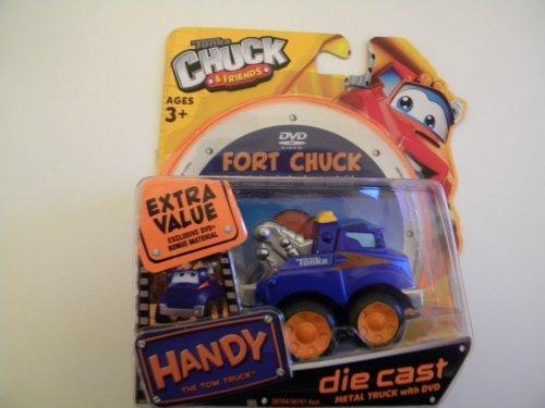 Tonka Chuck Friends Handy the Tow Truck DVD - Die Cast Metal Truck