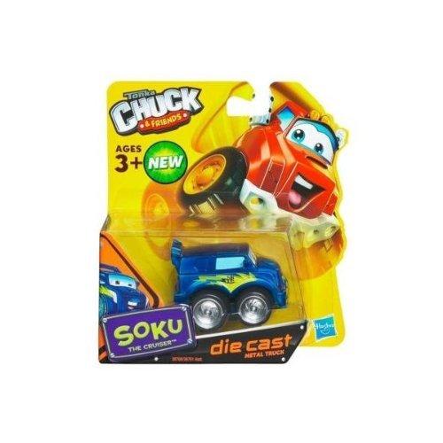 Tonka Chuck Friends - Soku The Cruiser - Die Cast Metal Truck