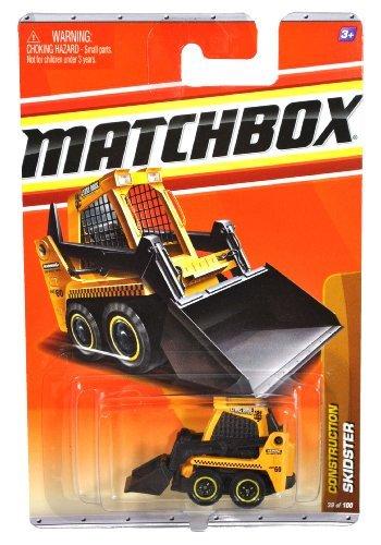 2010 MATCHBOX CONSTRUCTION 39 YELLOW SKIDSTER by Matchbox