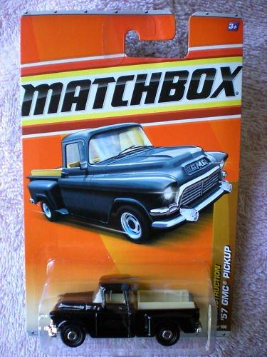 Matchbox 2011 Construction 38 of 100 57 GMC Pickup Black