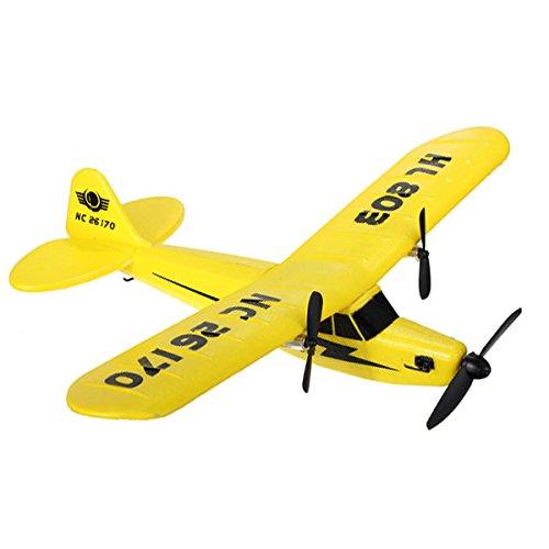 SICA HuaLe HL803 24G Upgraded PIPER J3 CUB NC26170 RC Airplane RTF