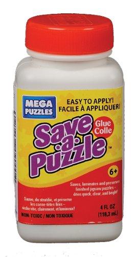 Mega Puzzles Save-A-Puzzle Glue 4 oz
