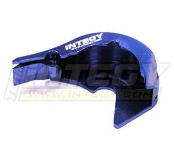 Integy RC Hobby T3418BLUE Motor MountGear Cover for 116 Traxxas E-Revo VXLSlash VXLSummit VXLRally