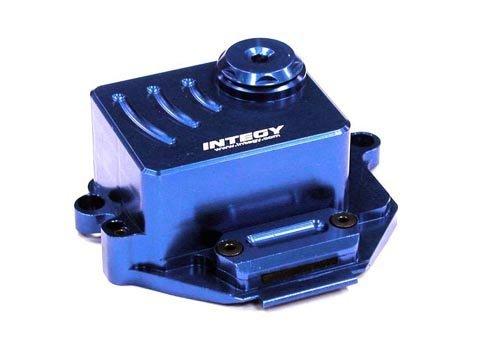 Integy RC Hobby T3431BLUE Alloy Receiver Box for 116 Traxxas E-Revo VXLSlash VXLSummit VXLRally